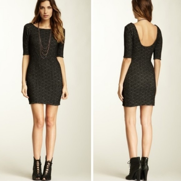 Free People Lady Pucker Textured Dress